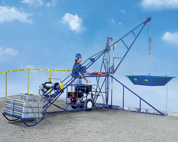 HS1000 Swing Hoist – 1/2 Ton Capacity