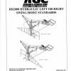 HS2000 Bi-Directional Swing Hoist Standards