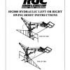 HS2000 HYDRAULIC LEFT OR RIGHT SWING HOIST INSTRUCTIONS
