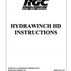 HYDRAWINCH HD INSTRUCTIONS