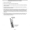 Pivoting Platform Hoist Plywood Carrier Attachment