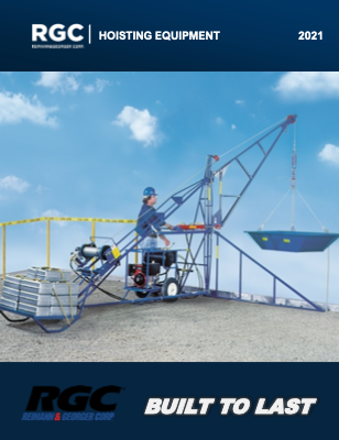 RGC Hoisting Equipment 2021 product brochure